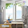 """Пластиковые двустворчатые окна Windom и Windom De Luxe 1200х1400 """"Окна Маркет"""""""