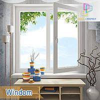 "Пластиковые двустворчатые окна Windom и Windom De Luxe 1200х1400 ""Окна Маркет"", фото 1"