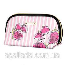 "Косметичка рожева ""Троянди"" (25*14*9)"