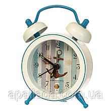 """Годинник-будильник """"Морська символіка"""" (рендомний вибір дизайну)"""