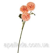 """8102-001 штучний Квітка """"Айстри"""" коралові"""