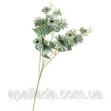 """8102-018 Квітка """"Африканська ромашка"""" блакитна"""