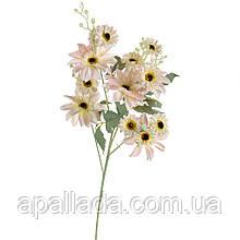 """8102-019 Квітка """"Африканська ромашка"""" ніжно-рожева"""