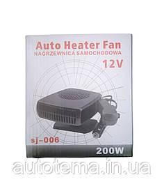 Тепло вентилятор 12 вольт