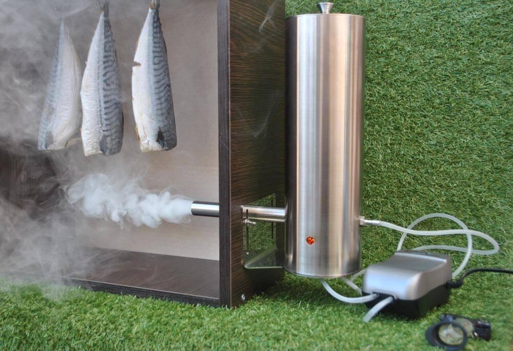 Дымогенератор для холодного копчения своими руками: схема