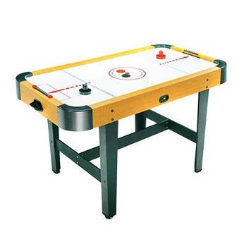 Игровой стол на ножках воздушный аэрохоккей для детей и взрослых Воздушный аэрохоккей работает от сети