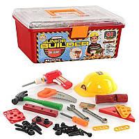 Детский набор инструментов в ящике Metr+ 2058 (41 деталь)  HN, КК