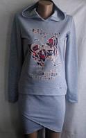 Подростковый костюм Лора (с принтом), фото 1