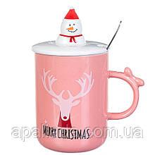 """Чашка """"Merry Chistmas"""" 350мл*рандомный выбор дизайна"""