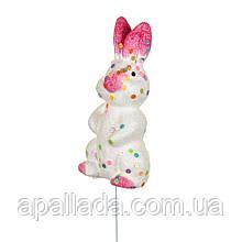"""Декор на паличці """"Кролик з рожевими вушками"""" (7 див.)"""