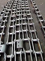 Тяговые пластинчатые цепи (цепь промышленная)