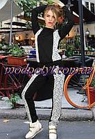 Женский спорт костюм с кружевом