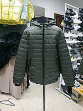 Чоловіча демісезонна куртка з капюшоном М-254, хакі