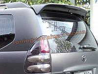 Задний спойлер со стопом на Toyota Prado FJ120