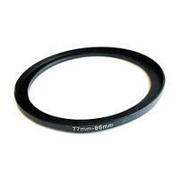 Повышающее степ кольцо 77-86мм для Canon, Nikon