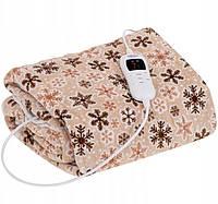 """Электрическое Одеяло 7 уровней нагрева с таймером 1-9 часов """"160x180 см"""" Camry CR 7430 ,мощность 120 Вт"""