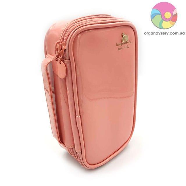 Лакована сумочка (рожева)