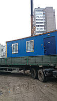 Перевозка бытовок - Перевозка вагончиков в Киеве, фото 1