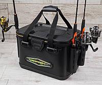 Сумка спиннингиста FanFish VS-40 со съемным лотком и держателями для спиннинга