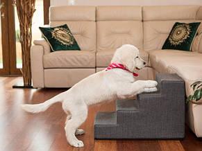 М'яка приставні сходи, щаблі для собак або котів, 40 см, L, фото 2