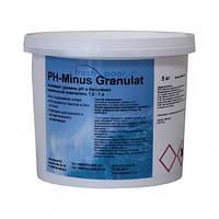 Средство для понижения уровня РН воды бассейна - РН минус гранулированный Fresh Pool, 5 кг
