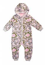 Теплий дитячий комбінезон для малюків
