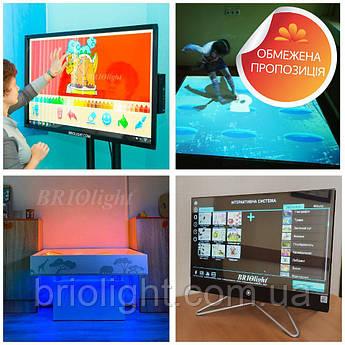 ІРЦ: 4-в-1 (інтерактивна підлога, пісочниця, панель, логопедичне дзеркало)