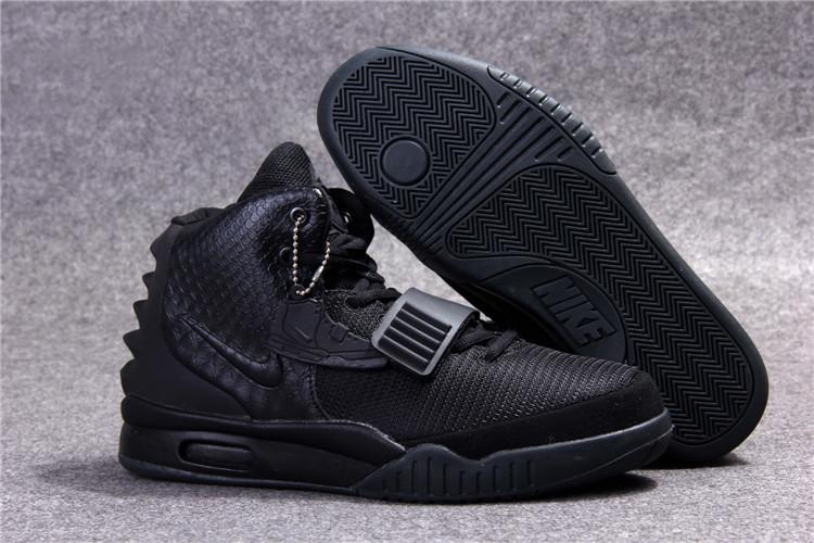 bf3d63ac Мужские кроссовки Nike Air Yeezy 2 черные, цена 1 349 грн., купить в ...