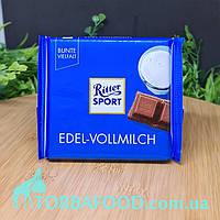 Шоколад Риттер Спорт темно-молочный, 100г