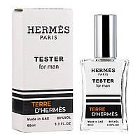 Мужской тестер Terre D`Hermes pour homme, 60 мл