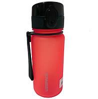 Бутылка для воды UZSPACE 3034 350 мл, красная