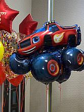 Машинка фольгований куля з гелієм