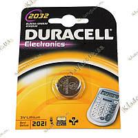 Батарейка Duracell 2032 3V, фото 1