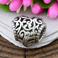 Срібний шарм Любовний настрій розмір 11х13 мм вага 3.12 г
