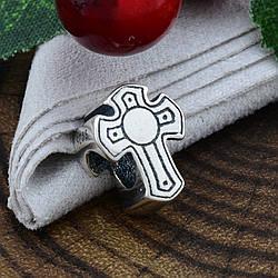 Срібний шарм Хрестик розмір 13х10 мм вага 2.57 г