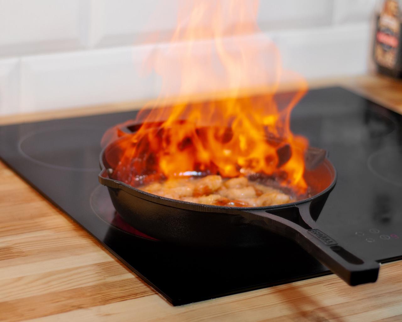 Сковорода чавунна з литою ручкою Brizoll 260х60 мм Бризол