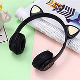 Бездротові LED навушники з котячими вушками Y47 LED, фото 4