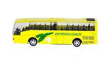 Автобус игрушка инерционный Big Motors жёлтый (XL80136L-2)