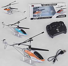 Радиоуправляемый вертолет с подсветкой для мальчика с USB шнуром для зарядки 656 (2 цвета)