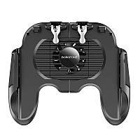 Игровой контроллер BOROFONE BG3 Warrior cooling с охлаждением, черный