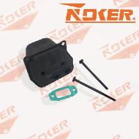 Глушитель (болты и прокладка) GL 45/52 NOKER