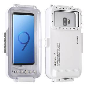 Водонепроникний чохол для дайвінгу для смартфонів Galaxy, Huawei, Xiaomi з портом Type-C PULUZ 45 м