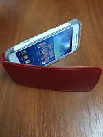 Футляр Книжка Кожанная ILLUSION Samsung I9190/9192/9195 Red