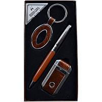 Подарочный набор, брелок + ручка + зажигалка