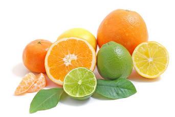 Цитрусовые ароматы: апельсин,  банан,  коко,  ананас,  грейпфрут,  лимон, мандарин,  киви, манго,  гранат,  маракуйя,  цитрусовый микс
