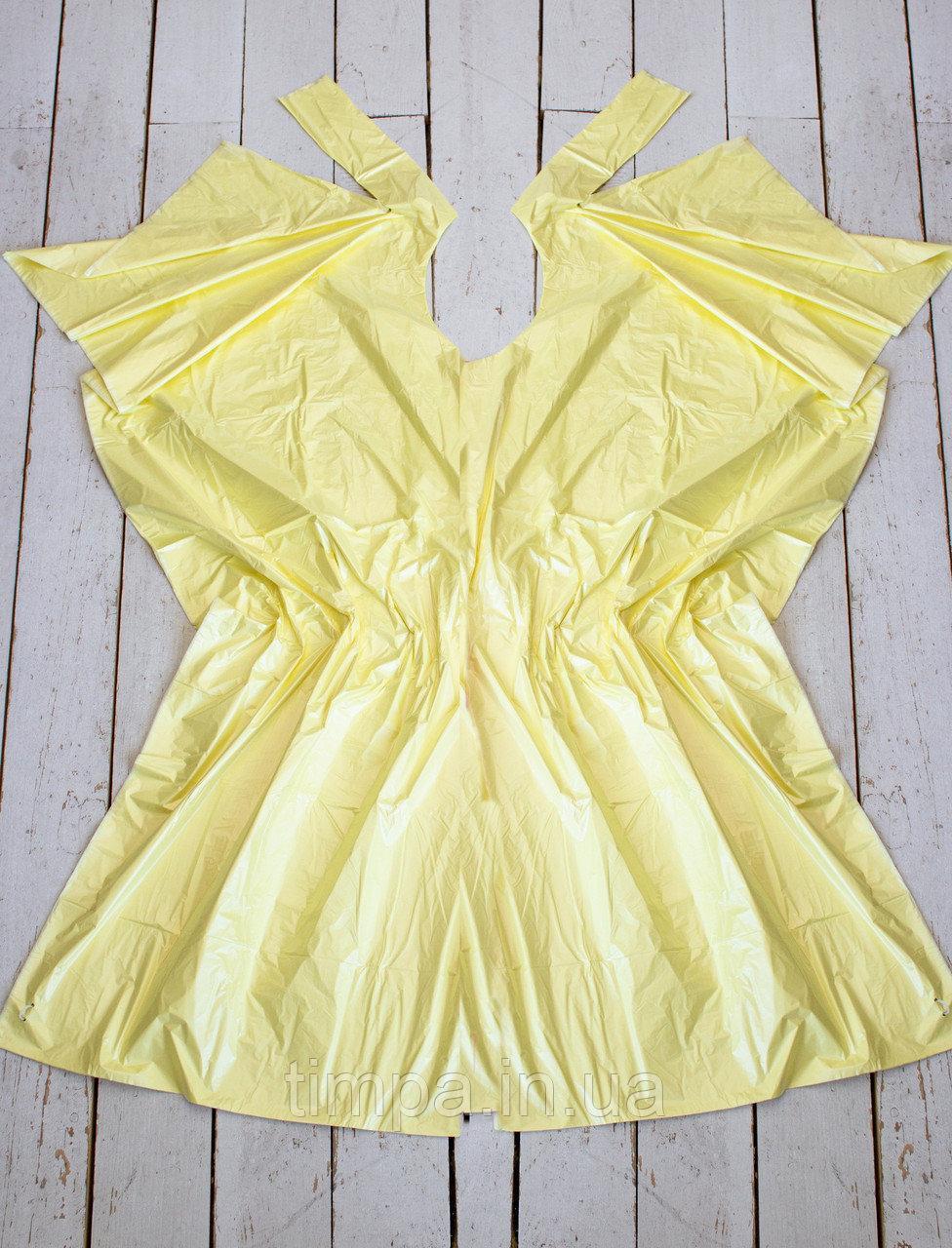 Пеньюари одноразові Тімпа 100 шт жовтий