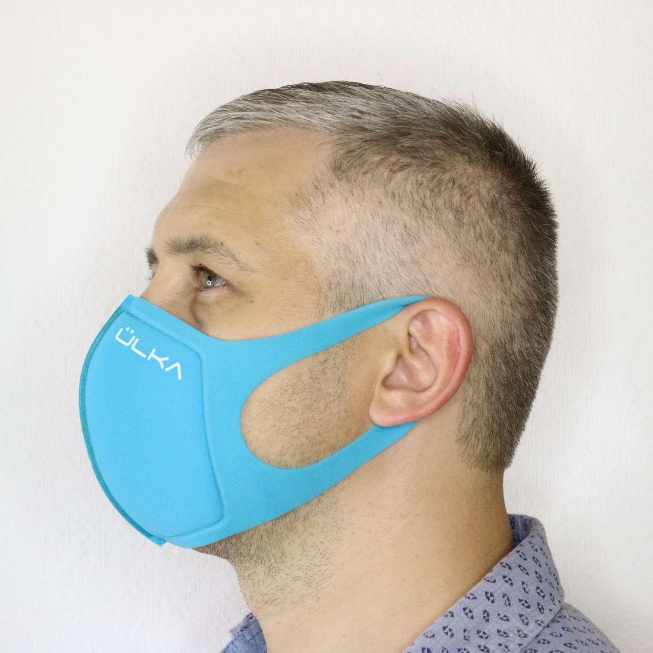 Багаторазова захисна маска ULKA бірюзова