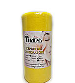 Серветки для манікюра 20 х 20 см Тімпа 100 шт сітка жовті
