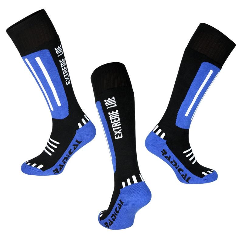 Лижні термошкарпетки Radical Extreme Line, сині з чорним 27-30