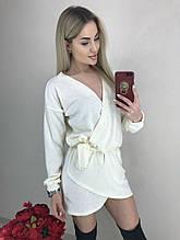 Жіноче плаття, ангора, р-р універсальний 42-46 (білий)
